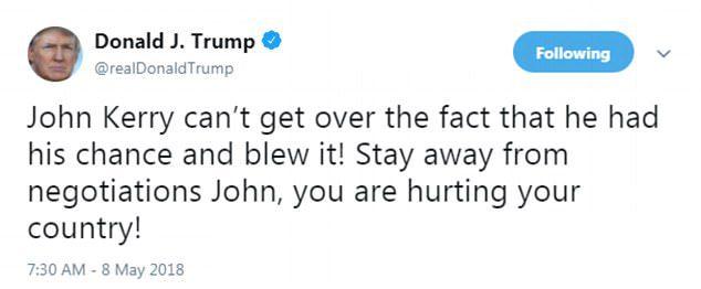 Trump Iran nuclear deal