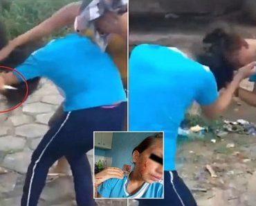 Brazil brutal school fight