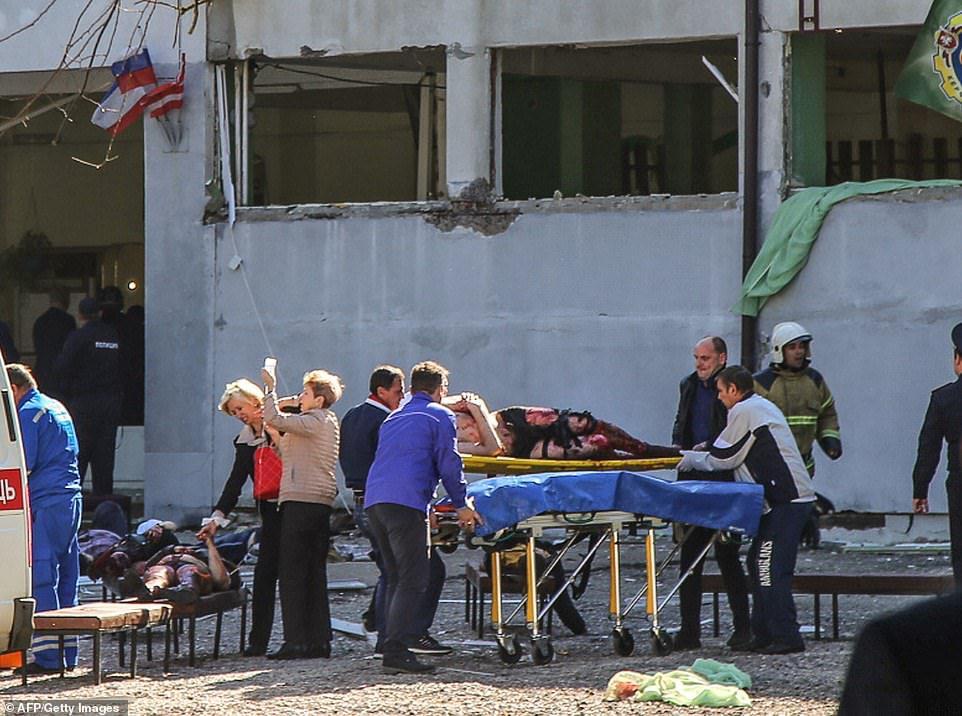 Crimea shooting