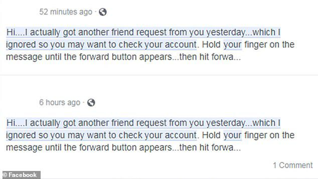 facebook clone account hack