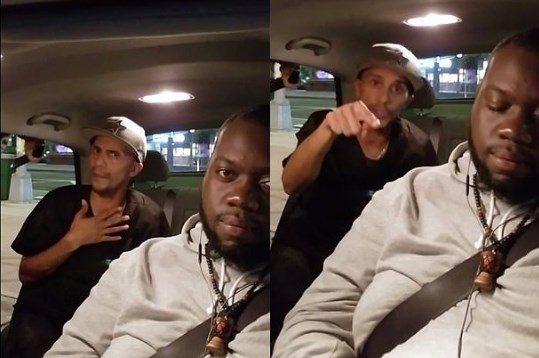 acist rant with NY lyft driver