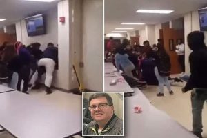 Brian Brennan beaten up by students