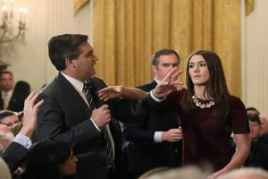 CNN to sue white house over acosta's credentials