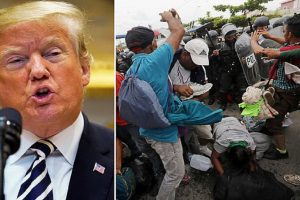 trump catch and release migrant caravan