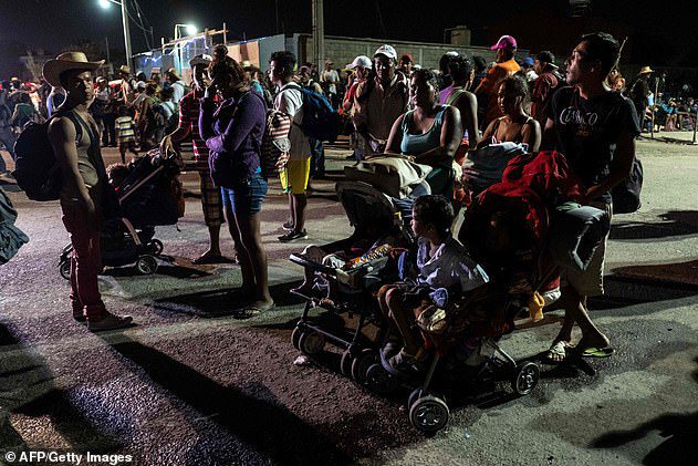trump catch and release migrant caravan