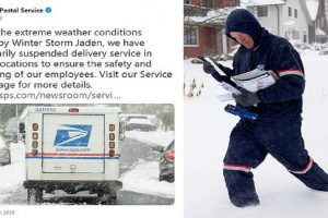 USPS delivery suspension