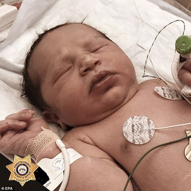 baby found in plastic bag