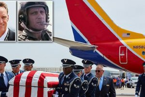 pilot flies remains veteran father