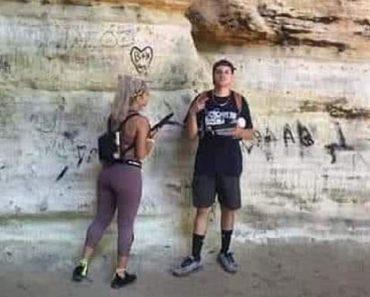 native american site vandalism