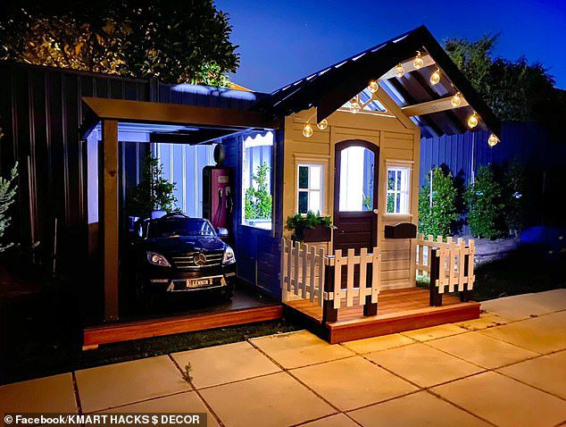 miniature cubby house
