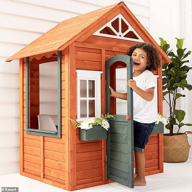 miniature cubby house