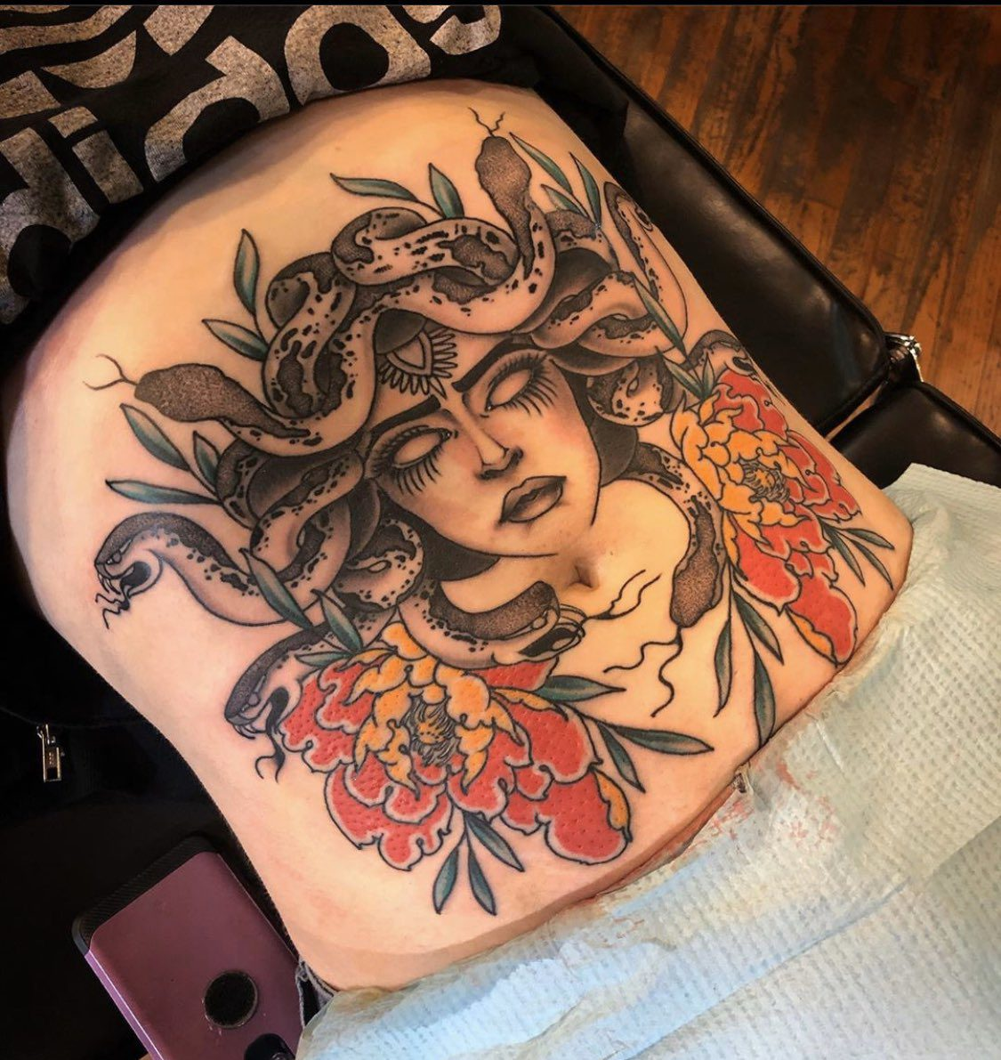 medusa tattoos