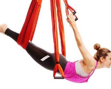 yoga trapeze back relief