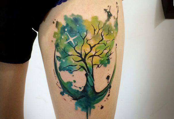 astronomy tattoos